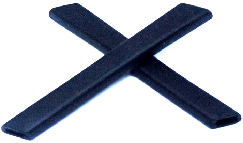 Galaxy Earsocks Rubber Kits For Oakley Racing Jacket,Jawbone,Split Jacket Black