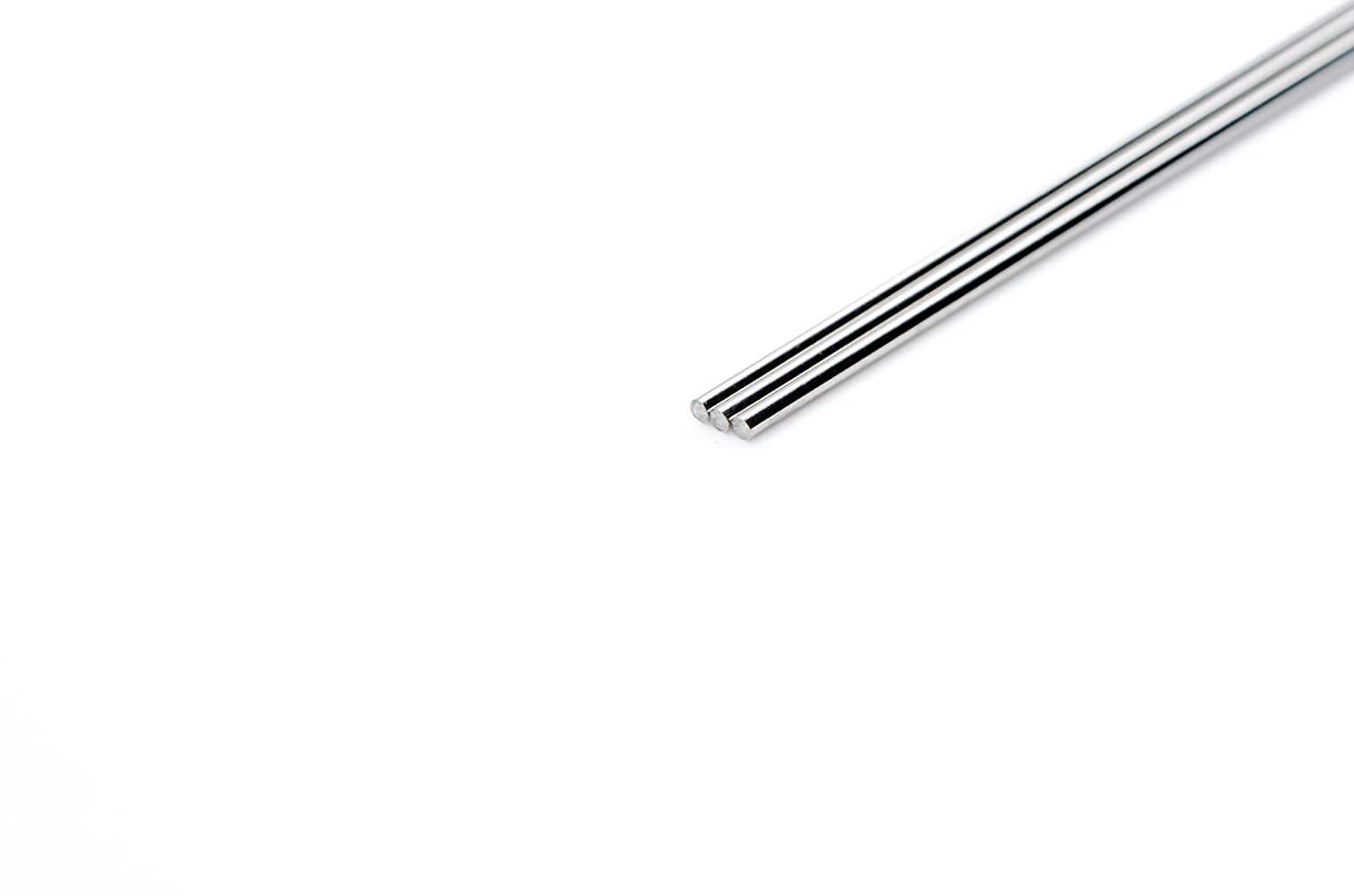 WYTCH316-132 316LVM Stainless Steel Wire, Bright Finish, VAR (Vacuum Arc Remelted), Spring Temper, Precision Tolerance, ASTM A313/ASTM F138, 0.035 Diameter, 73 Length (Pack of 5)