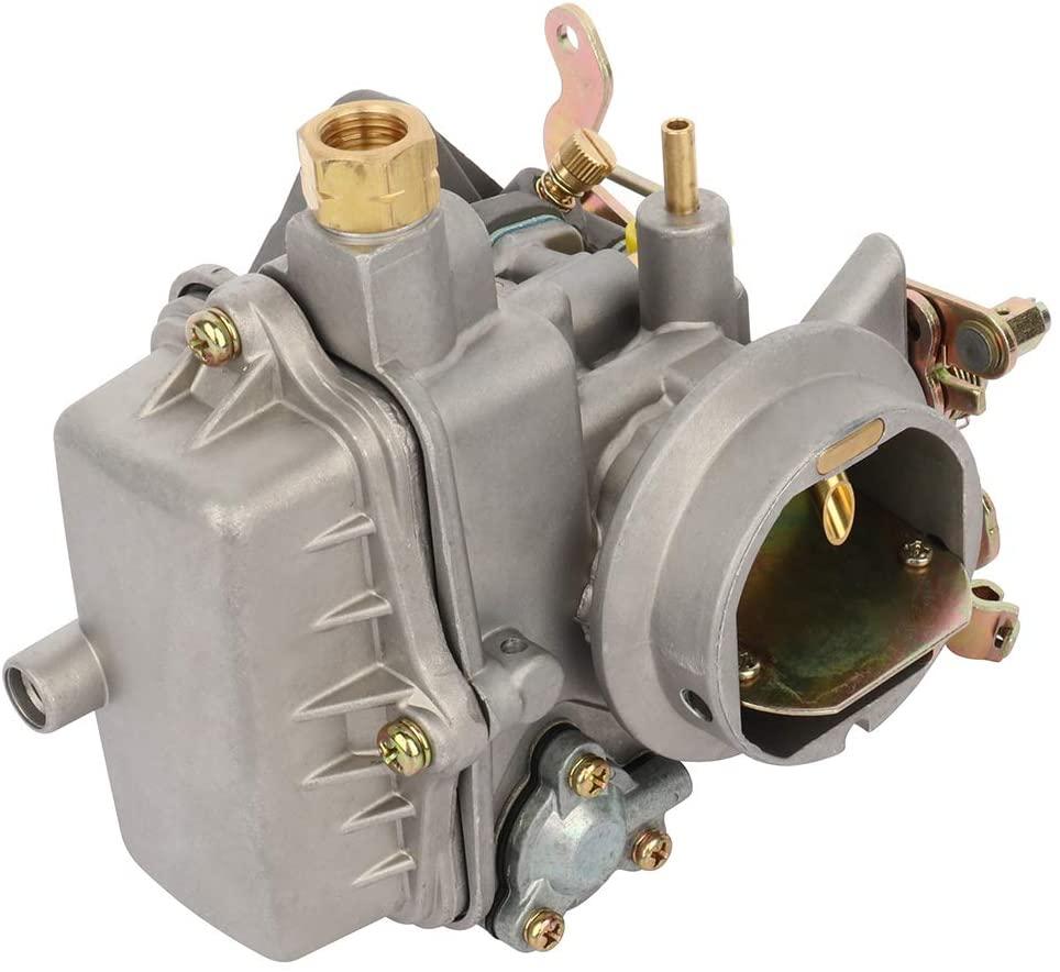 QUALINSIST Car Carburetor Carb Replacement for 1953-1968 Jeep CJ3B 1955-1975 Jeep CJ5 1955-1975 Jeep CJ6 F-head 4 Cylinder Engines OEM 17701.02 923808