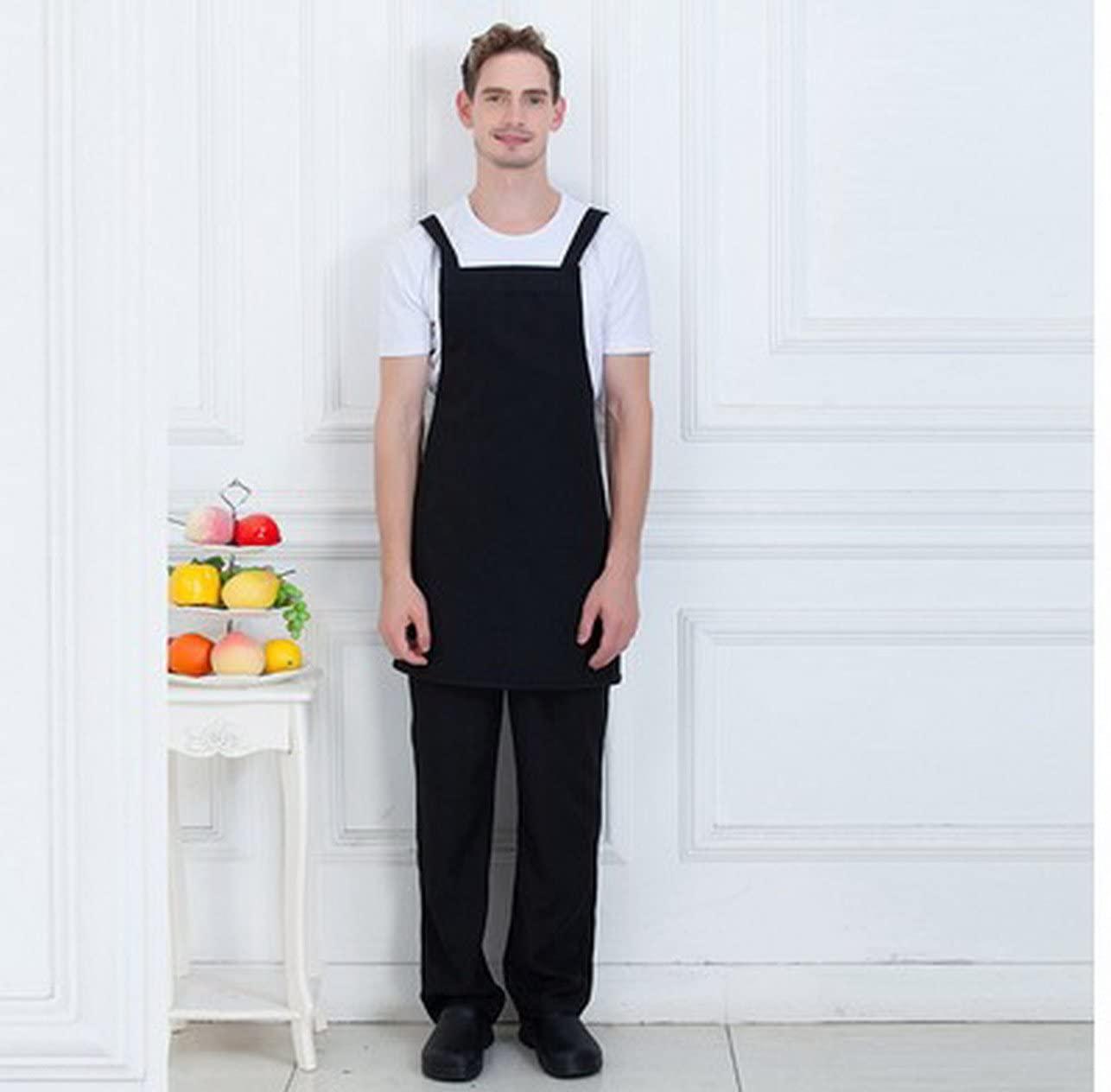 geranjie Work clothes apron kitchen net coffee restaurant waiter apron print coffee shop milk tea shop apron