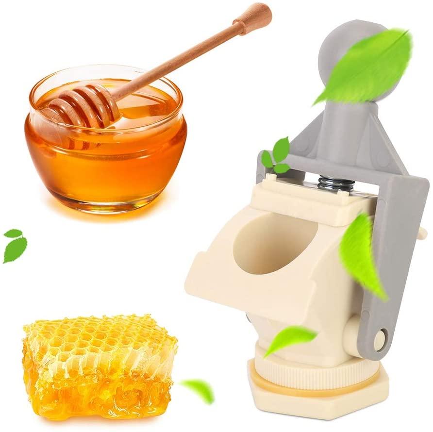Fishlor Honey Gate Valve, Plastic Bee Honey Tap Gate Valve, 6.7