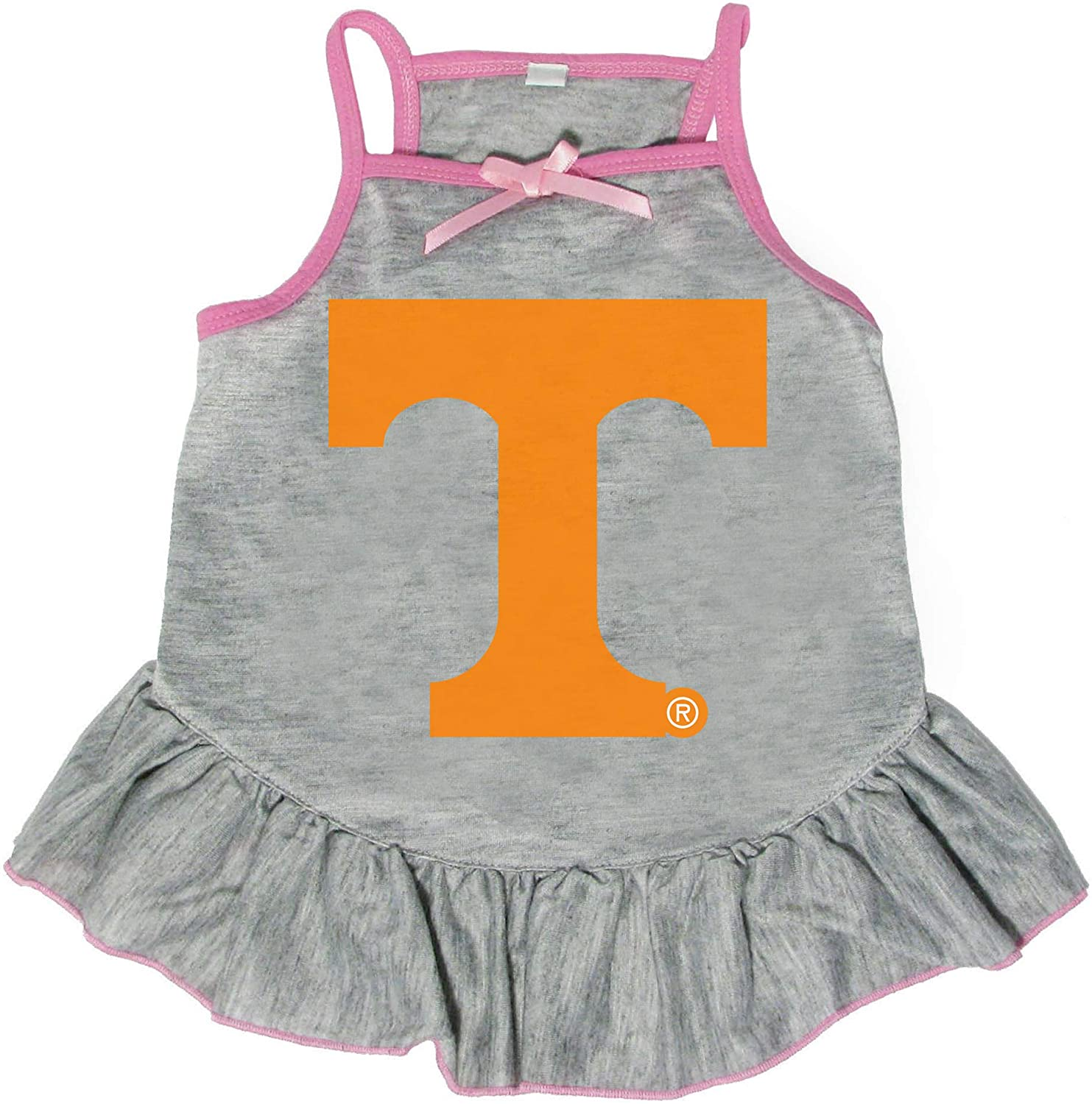 Littlearth NCAA Tennessee Volunteers Pet Dress, Extra Small