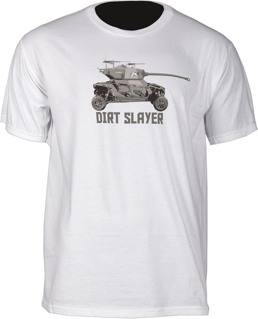 Klim Dirt Slayer T LG White