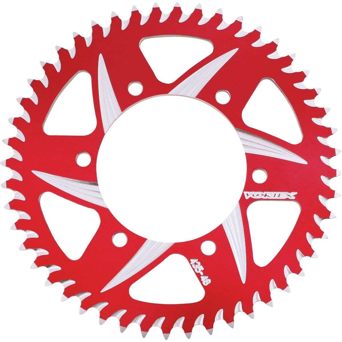Vortex CAT5 Rear Sprocket (520 / 42T) (Red) for 11-13 Honda CBR250R