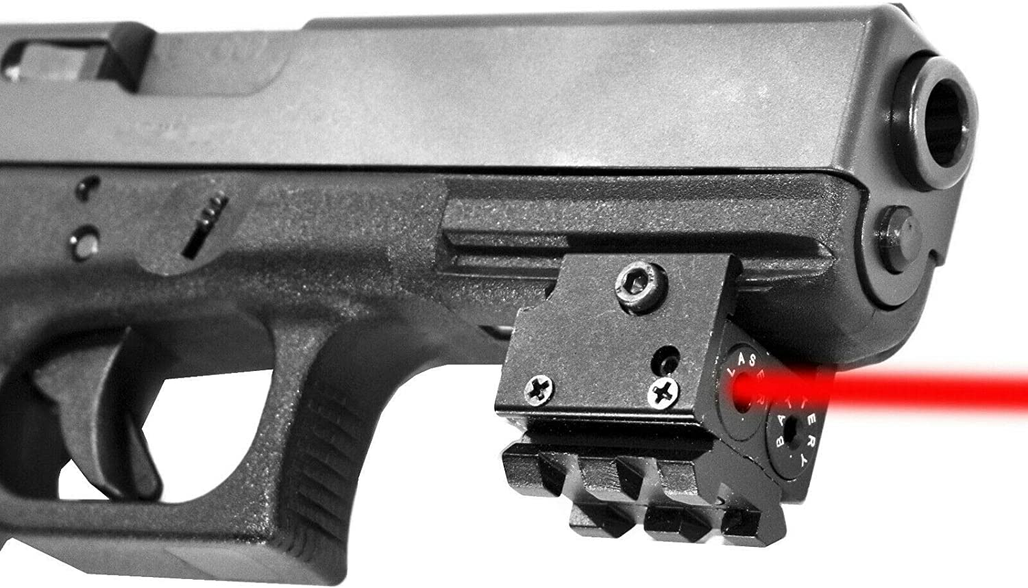 Trinity Tactical Compact Red Dot Laser Sight for KELTEC PMR30 Models Glock Smith Wesson Class IIIA 635nM Less Than 5mW