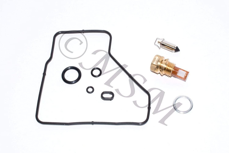DP 0101-219 Carburetor Rebuild Repair Parts Kit Compatible with Honda 88-90 VTR250 Interceptor 250