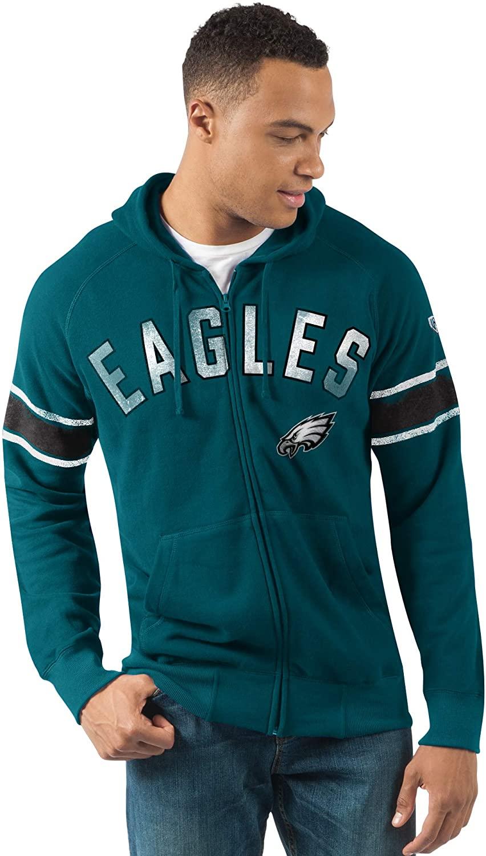 G-III Sports Philadelphia Eagles Men's Arena Full Zip Hooded Sweatshirt