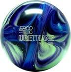 EPCO Candlepin Bowling Ball- Urethane Pro-Line - Purple, Blue & Mint Single Ball