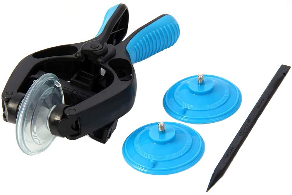 MMOBIEL LCD Screen Opening Tool/Pliers Repair Tool Suction Cup compatible with various tables and Smartphones (Blue)