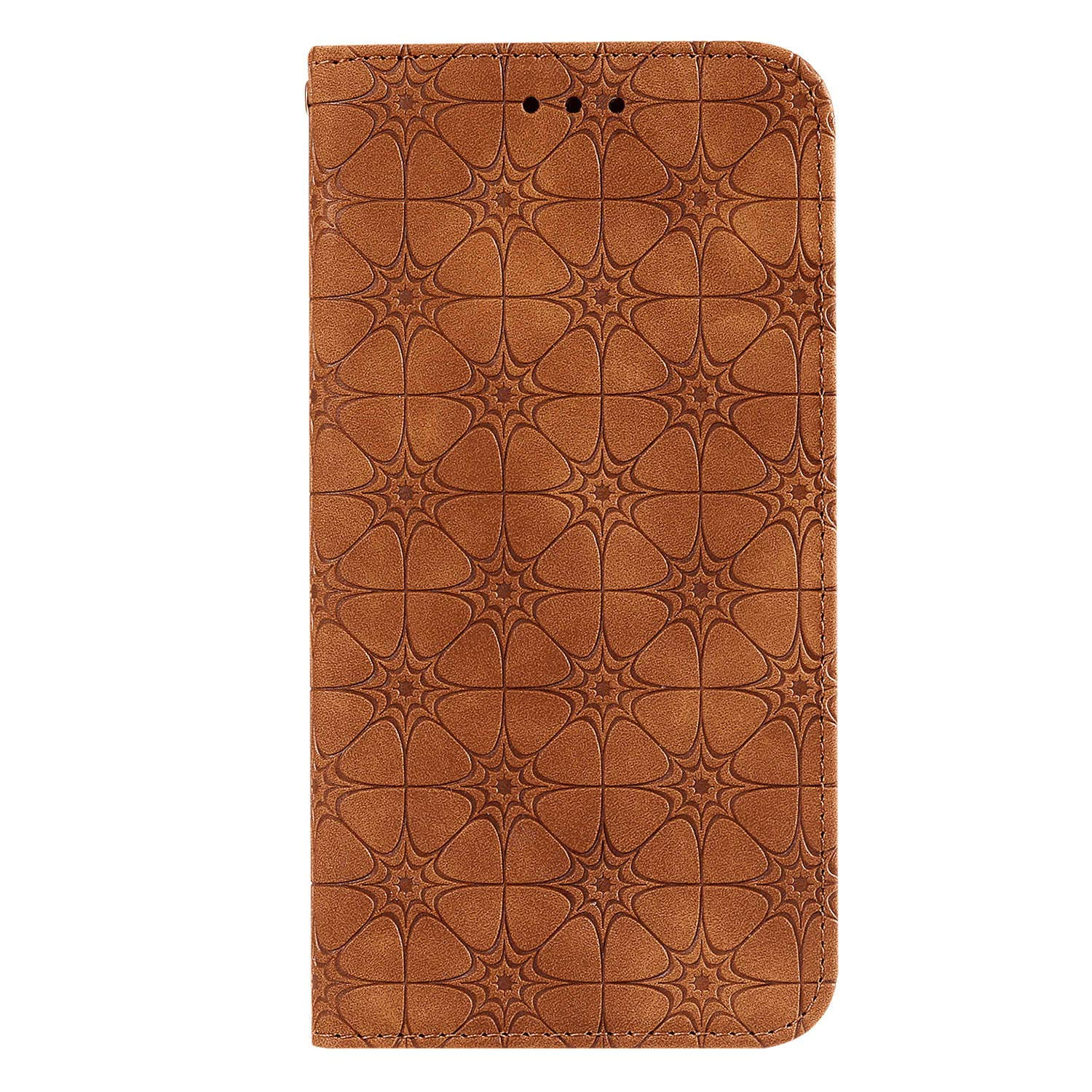 Flip Case for Samsung Galaxy S10 Plus S10+, Brown PU Leather Wallet Cover (Compatible with Samsung Galaxy S10 Plus S10+)