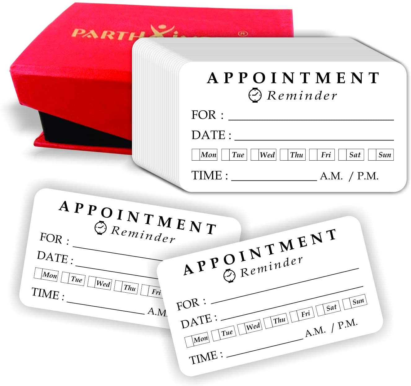 Appointment Reminder Cards - (Pack of 100) 3.5