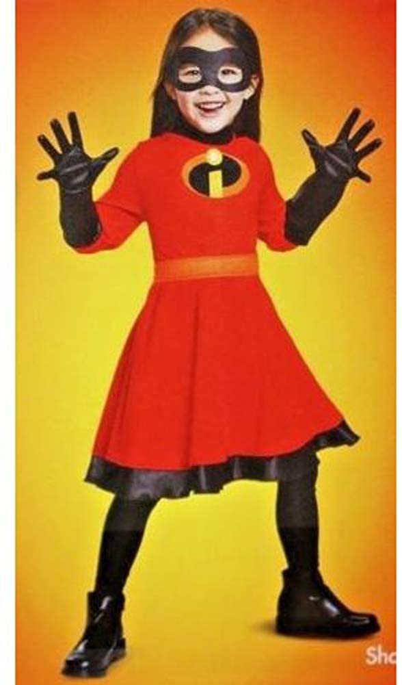 Disguise The Incredibles 2 Violet Deluxe Costume Medium 7-8 Yrs Old