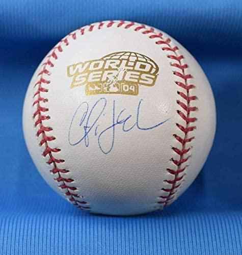 Curtis Leskanic Autographed Baseball - Tri Star Cert 2004 World Series - Autographed Baseballs