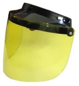 Daytona Helmets FUV-Y 'Yellow' Replacement Flip-Up Visor - One Size