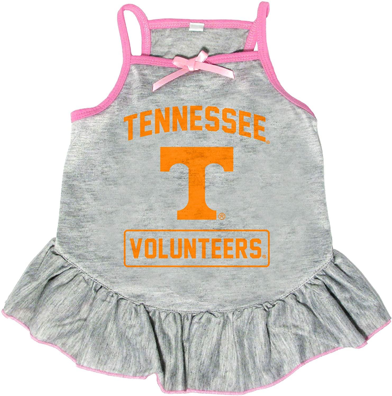 Littlearth NCAA Tennessee Volunteers Pet Dress, Extra Small