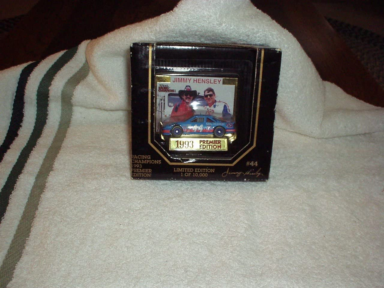 NASCAR Jimmy Hensley Racing Champions 1993 Premier Edition #44 Rare Collectible