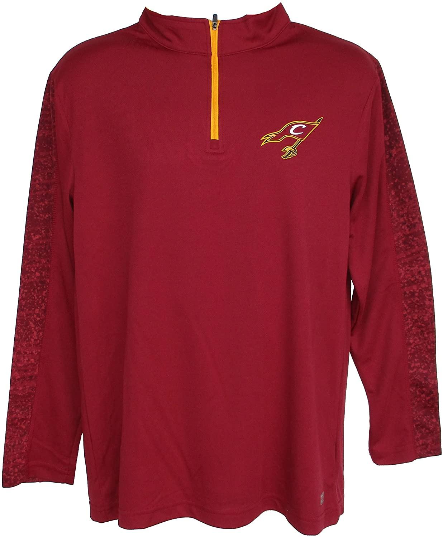 Genuine Merchandise Cleveland Cavaliers Men's Large 1/4 Zip Pullover Shirt - Team Colors