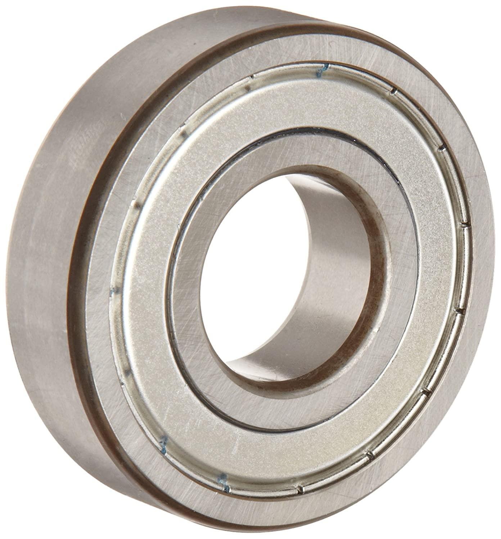 FAG 6307-2ZR-C3 Deep Groove Ball Bearing, Single Row, Double Shielded, Steel Cage, C3 Clearance, Metric, 35mm ID, 80mm OD, 21mm Width, 8500 rpm Maximum Rotational Speed, 4300 lbf Static Load Capacity, 7500 lbf Dynamic Load Capacity