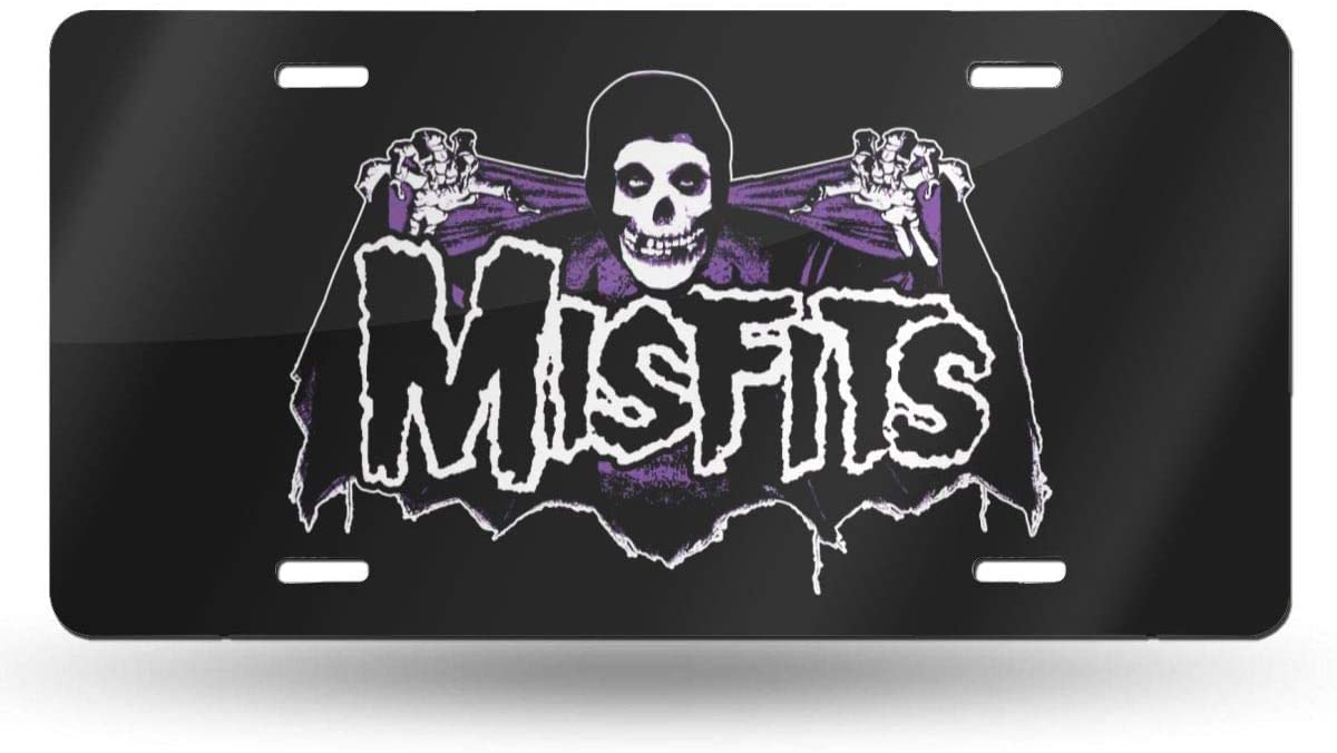 NOT Misfits License Plate 6 X 12