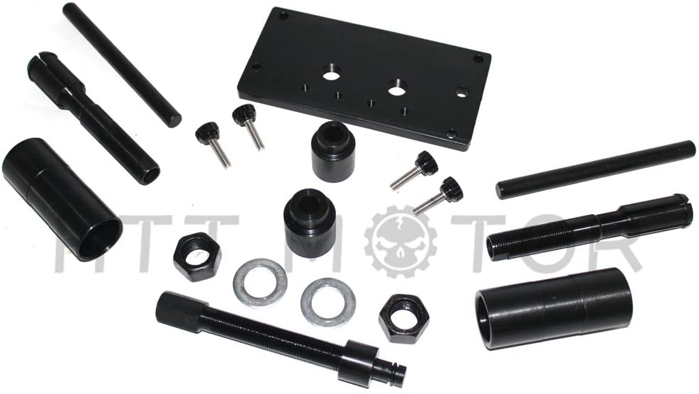 XKMT-Compatible With HARLEY DAVIDSON ALL TWIN CAM YEARS INNER CAM BEARING INSTALLER PULLER TOOLS [B07BDJWV2Q]