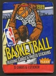 1989 Fleer Basketball Wax Pack- NBA Rookie Gems?