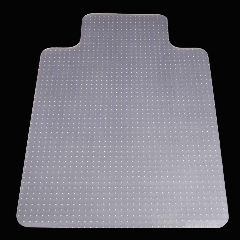 YYDTT PVC Home-use Protective mat Matte Anti-Slip Mats Waterproof Floor mat Floor Computer Chair mat for Home decorate-90x120cm(35x47inch)