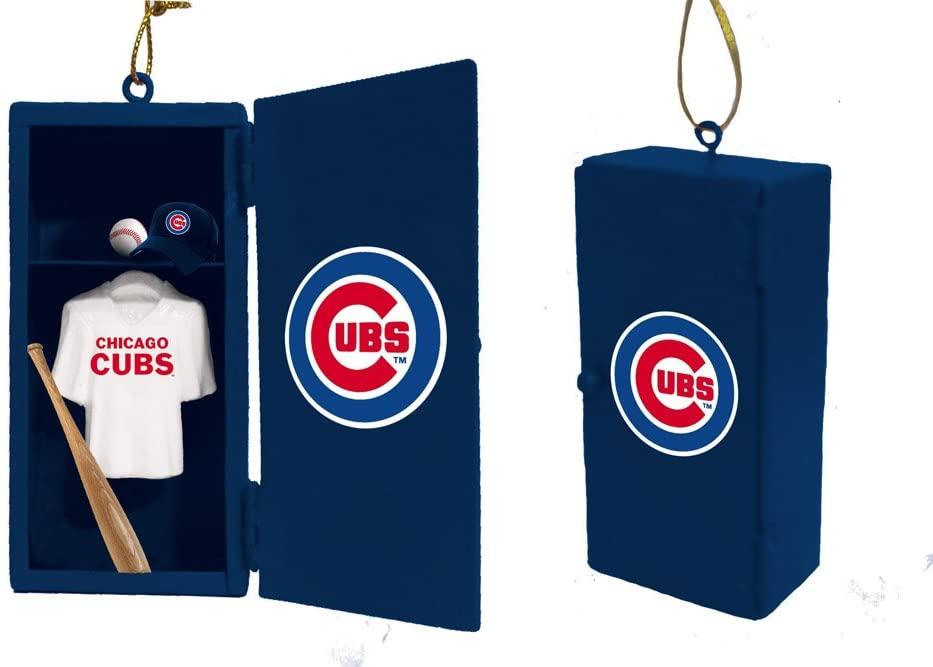 Team Sports America Chicago Cubs Team Locker Ornament
