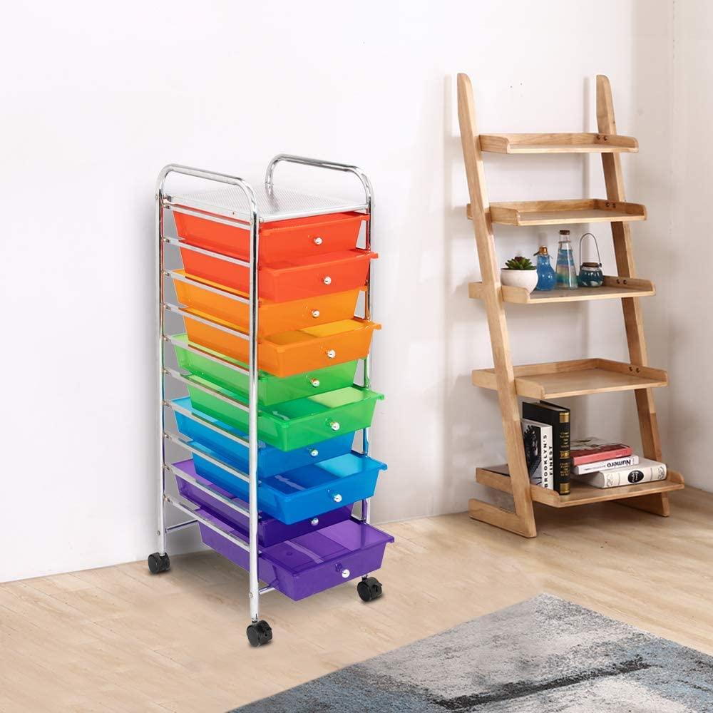 SHOP AT 247 10-Drawer Organizer Cart