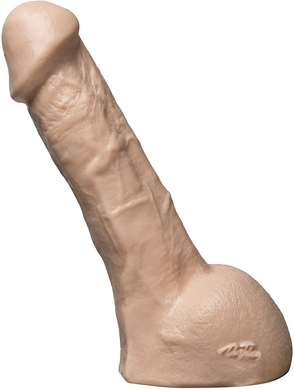 Doc Johnson Vac-U-Lock - Realistic Cock - Perfect - 7 Inch- F-Machine and Harness Compatible Dildo
