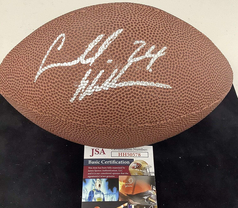 Cadillac Williams Signed Football Mini Football Bucs NFL Wilson - JSA Certified - Autographed Footballs