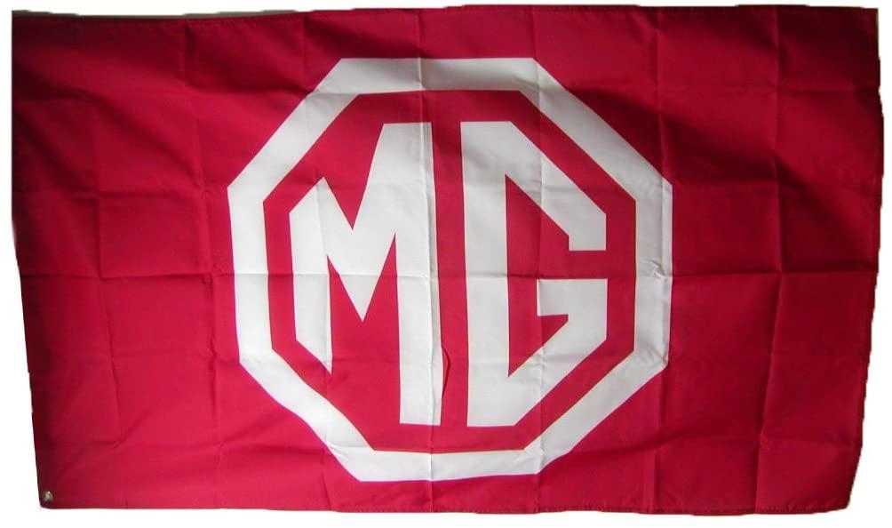 CG Autowood MG Racing Flag (Red)