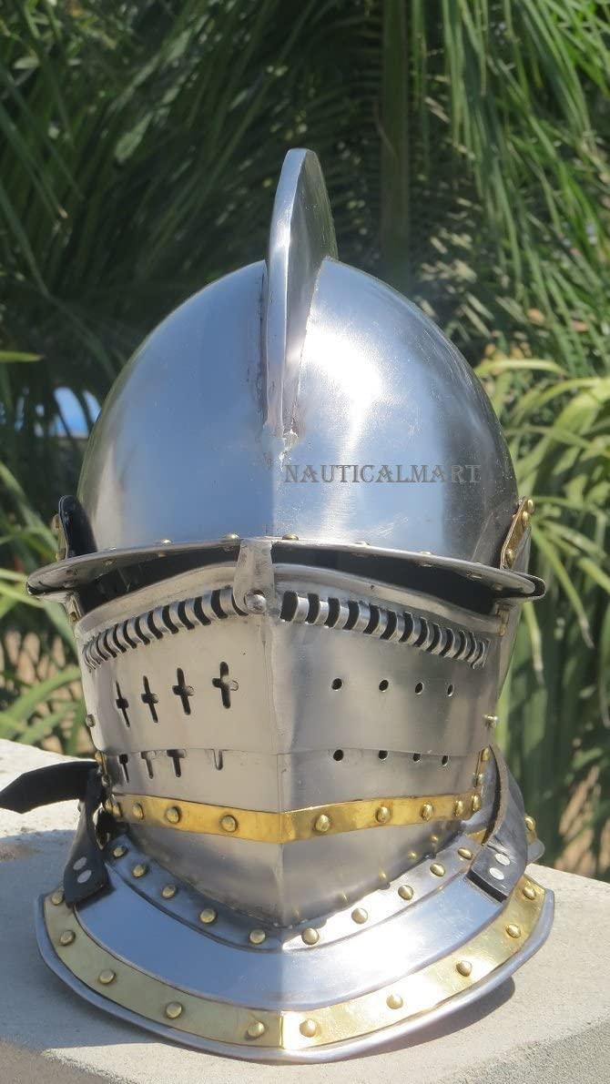 NauticalMart Medieval BERGONET Helmet Medieval Costume