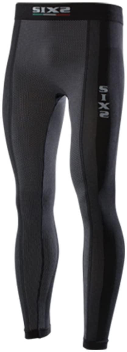 SIXS men's (600-0205) Leggings SuperLight Underwear, Black carbon, XL, X-Large