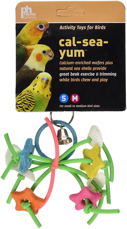 Prevue Hendryx Cal Sea Yums Urchin Bird Toy