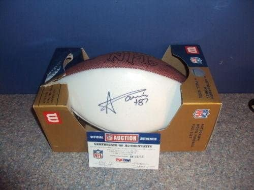 Andre Davis Signed Wilson Panel Football - PSA/DNA Certified - Autographed College Footballs