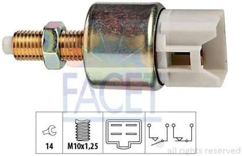 Facet - 7.1119 - Brake/Clutch Pedal Switches