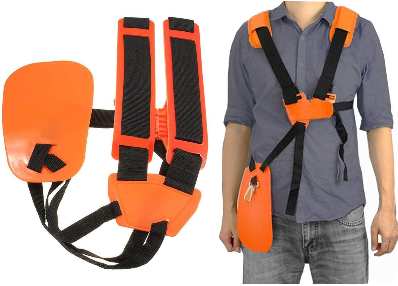 Hippotech New 4119 710 9001 Trimmer Shoulder Strap/Harness Brushcutter Shoulder Harness for STIHL FS, KM Series String Trimmer