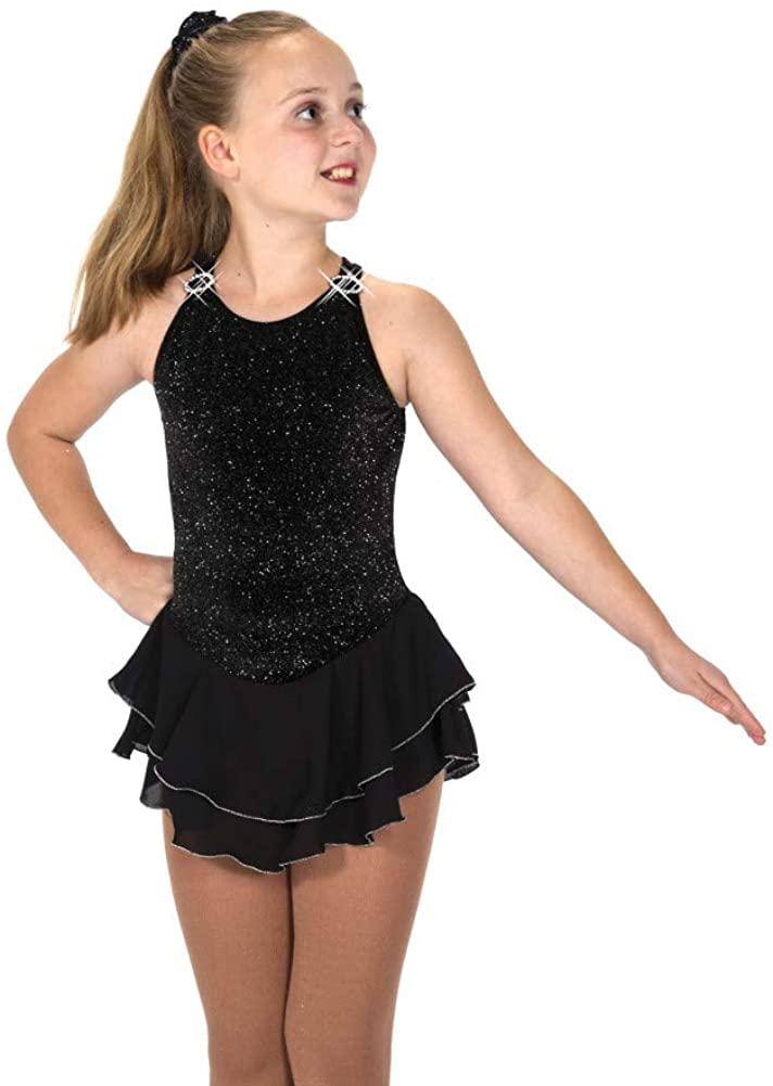 Jerrys Ice Skating Dress - 15 Shimmer - Black