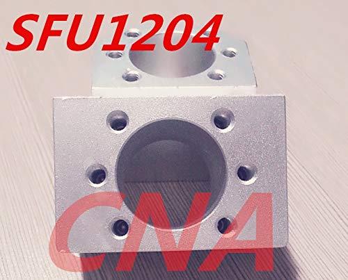 Ochoos 3pcs SFU1204 Ballscrew Nut Housing Aluminium Mounting Bracket for CNC Ballscrew Ballnut