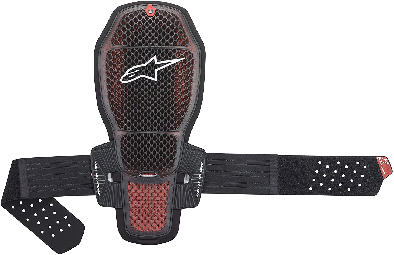 Alpinestars Nucleon KR-R Cell Motorcycle Back Protector, Black/Red, Medium
