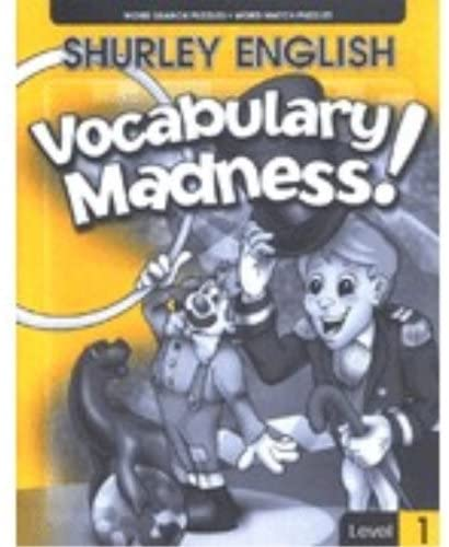 Shurley English Vocabulary Madness Level 1
