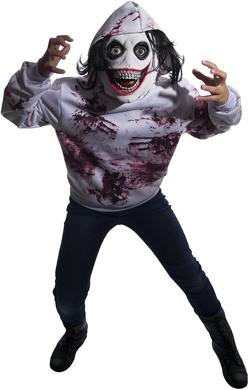 Rubies Creepy Pasta-Go to Sleep Childrens Costume, na, Medium