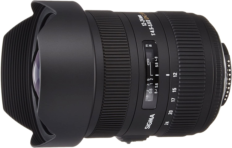 Sigma 12-24mm f/4.5-5.6 AF II DG HSM Lens for Nikon Digital SLRs