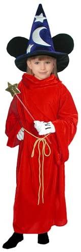 Disney Fantasia Sorcerer's Apprentice - Mickey Mouse Costume - Child Medium Size