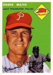 1994 Topps Archives 1954 247 Eddie Mayo Near Mint or better