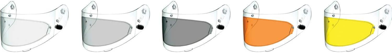 HJC Helmets Smoke Anti-Scratch Pinlock Shield