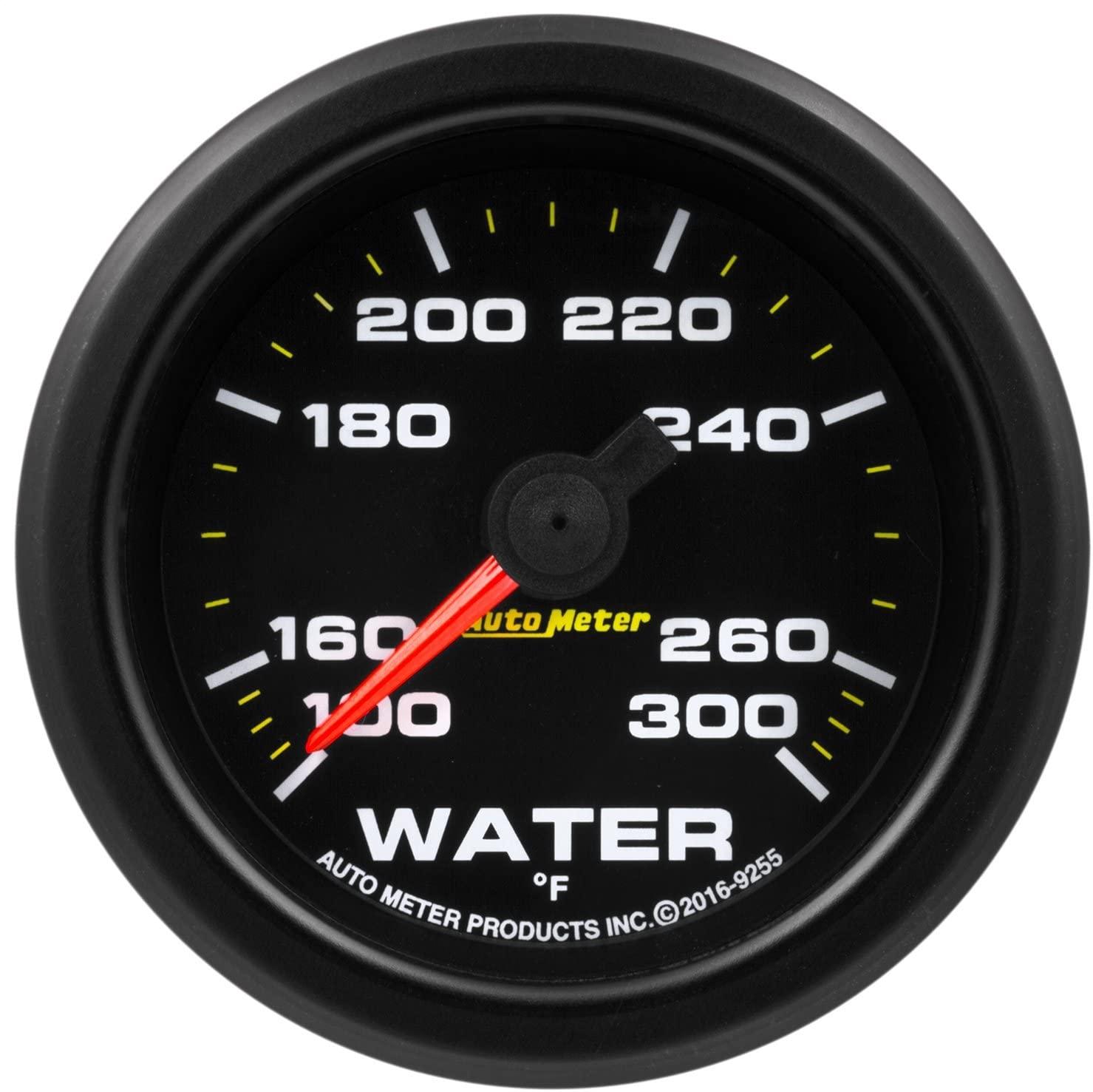 AutoMeter 9255 Gauge, Water Temp, 2 1/16