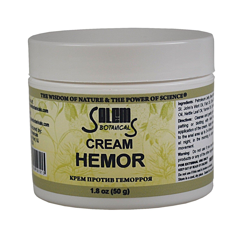 Salem Botanical Hemor Cream, 1.8 Ounce