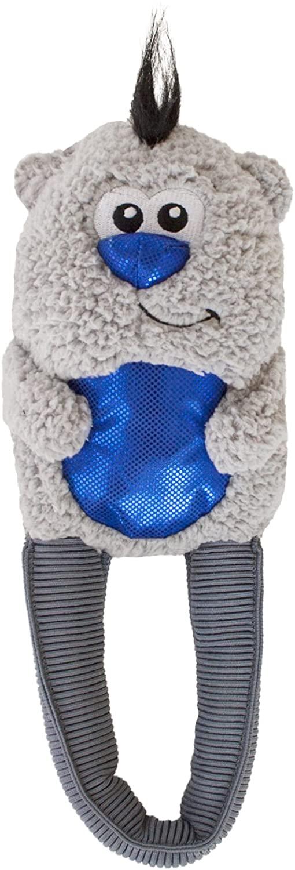 Outward Hound Polar Bear Stretch Tugz Tugging Plush Holiday Dog Toy