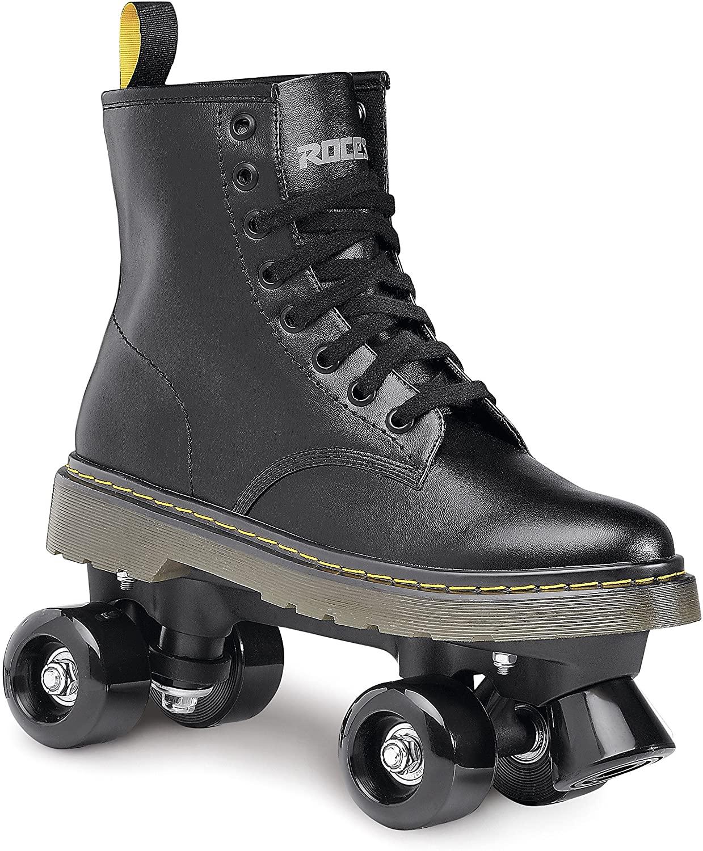 Roces 550061 Model Clash Roller Skate, US 10M/12W, Black